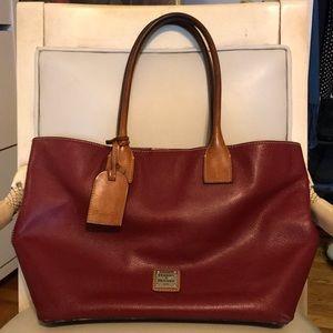 Dooney & Bourke red leather bag